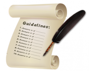 A Universal set of Guidelines